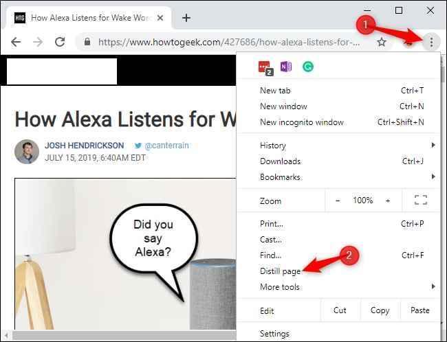 lector en Chrome