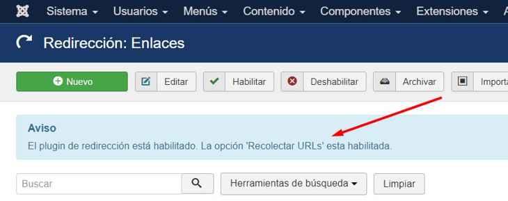 recolectar URLs