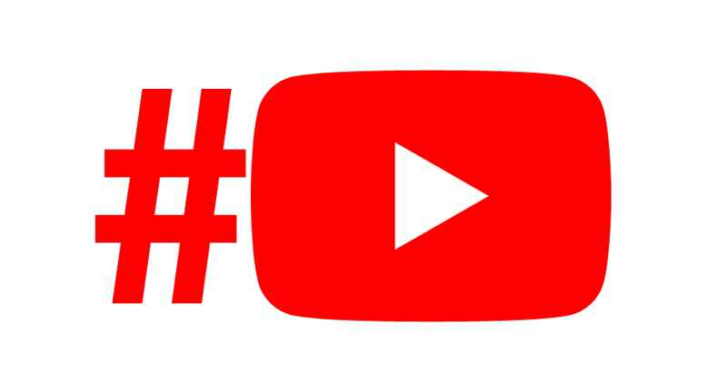 YouTube por hashtag