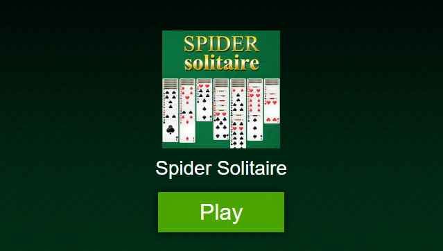 Solitario Spider play