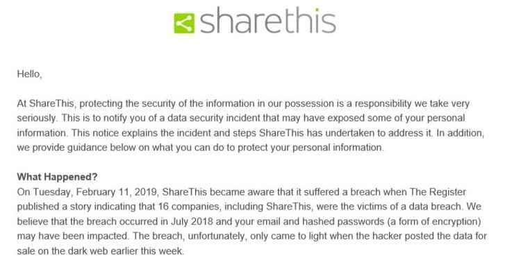email de ShareThis