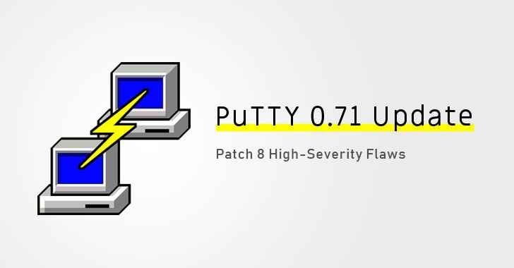 actualización de PuTTY