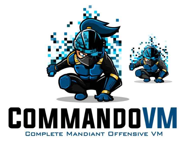 Commando VM azul