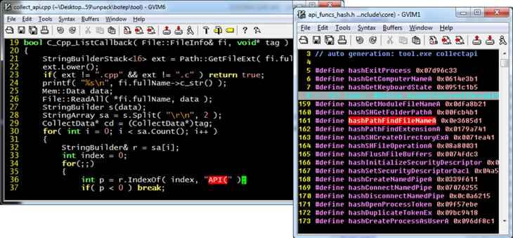 código fuente de Carbanak