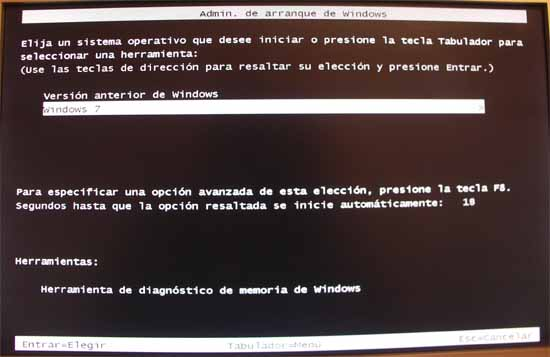 Administrador de arranque de windows