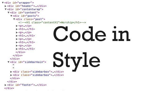 código del estilo CSS
