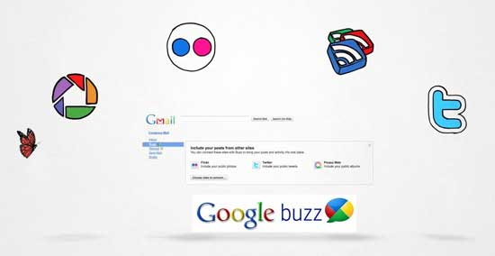 Social Google Buzz en Gmail