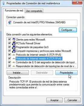 Windows 7, TCP/IP