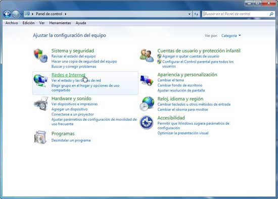 Windows 7 - Redes e internet