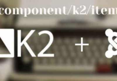 Cómo eliminar de la URL 'component/k2/item' de Joomla K2
