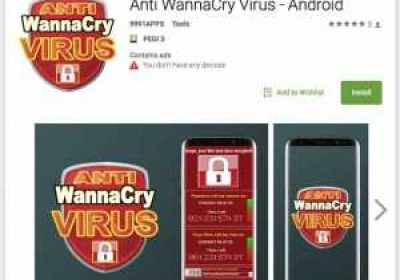 Aparecen en Google Play falsas aplicaciones anti-WannaCry