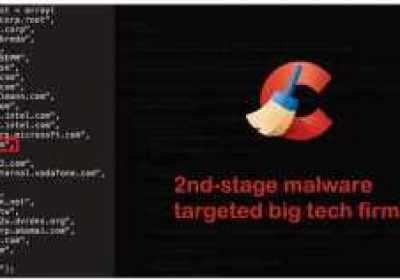 El malware de CCleaner infecta a grandes empresas tecnológicas con una segunda puerta trasera