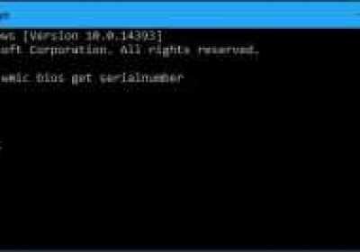 Cómo encontrar el número de serie de tu PC con Windows