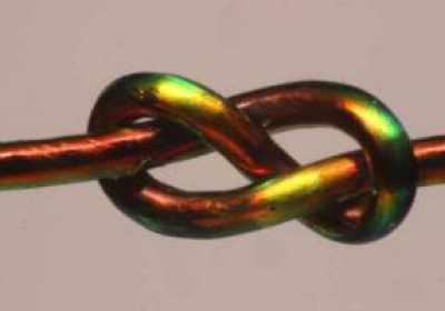 Un nuevo modelo matemático predice la estabilidad de un nudo