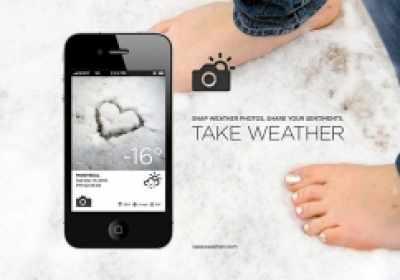 Take Weather, una nueva App del tiempo completada con fotos