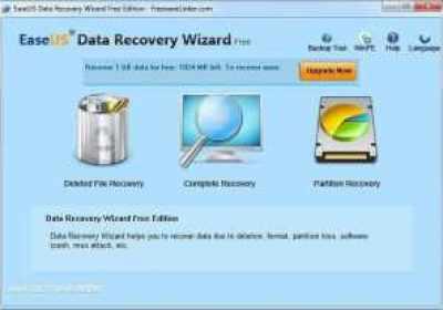 Revisión del asistente de recuperación de datos EaseUS Data Recovery Wizard Free