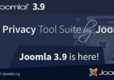 Joomla lanza la versión 3.9 'The Privacy Tool Suite'