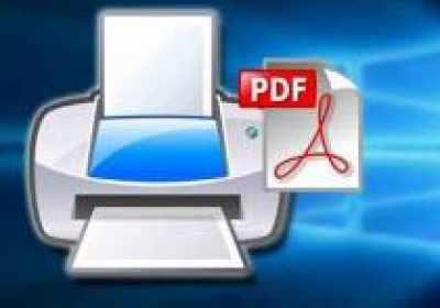 Cómo guardar un documento o imagen como PDF en Windows 10