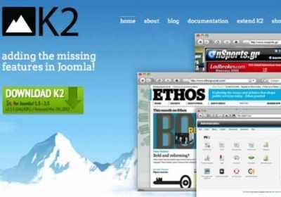 Iconos de K2 en el panel de control