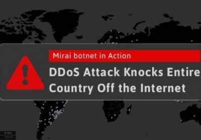 Alguien está usando Mirai Botnet para apagar Internet en todo un país