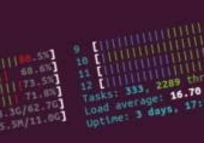 ¿Qué significan las barras de color en htop?