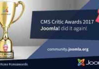 Joomla! es el mejor CMS gratis, en el CMS Critic Awards 2017