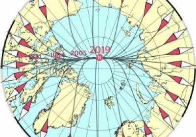 Satélites europeos ayudan a identificar el nuevo norte magnético para teléfonos inteligentes