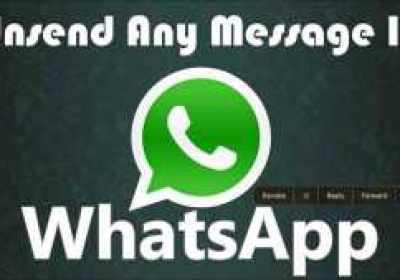 Cómo deshacer un mensaje de Whatsapp
