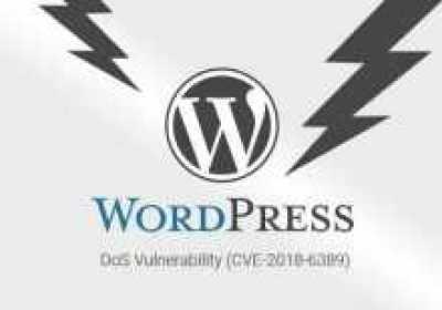 Un error de DoS no parcheado podría ayudar a cualquiera a cerrar sitios web de WordPress