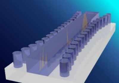 Un 'tsunami' en un chip de silicio