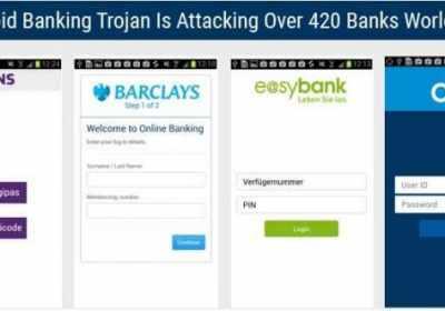 Trojano Android ataca a más de 420 aplicaciones bancarias en todo el mundo