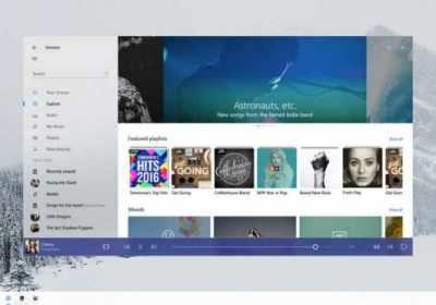 El proyecto Neon de Microsoft rediseña Windows 10