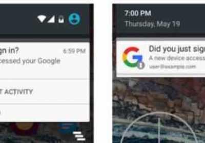 Android te alertará cuando un nuevo dispositivo acceda a tu cuenta de Google