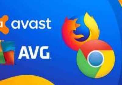 Extensiones de navegador Avast y AVG espian a usuarios de Chrome y Firefox