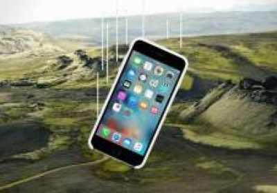 La historia del iPhone que sobrevivió un año en el desierto islandés después de caerse de un avión