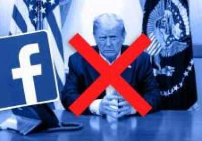 Trump expulsado de Facebook indefinidamente, dice el CEO Mark Zuckerberg