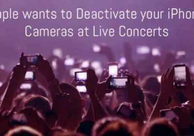 Infrarrojos impedirán que grabes un concierto con tu teléfono
