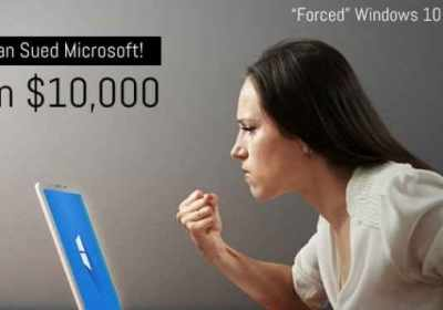 Mujer gana $ 10,000 tras demandar a Microsoft por 'forzarla' a actualizar a Windows 10
