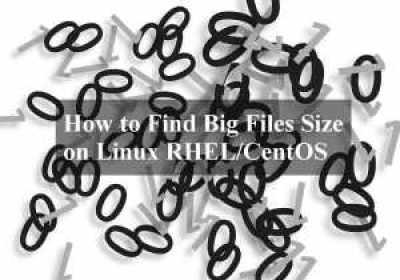 Cómo encontrar archivos de gran tamaño en Linux RHEL / CentOS